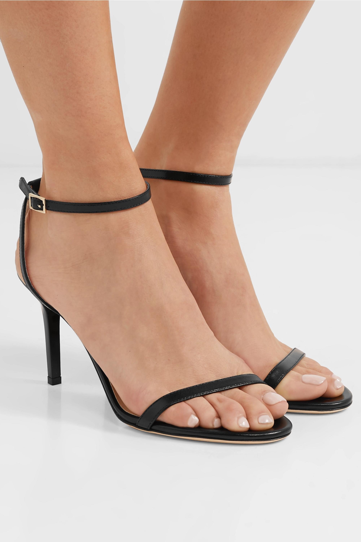 Jimmy Choo Minny 85 leather sandals
