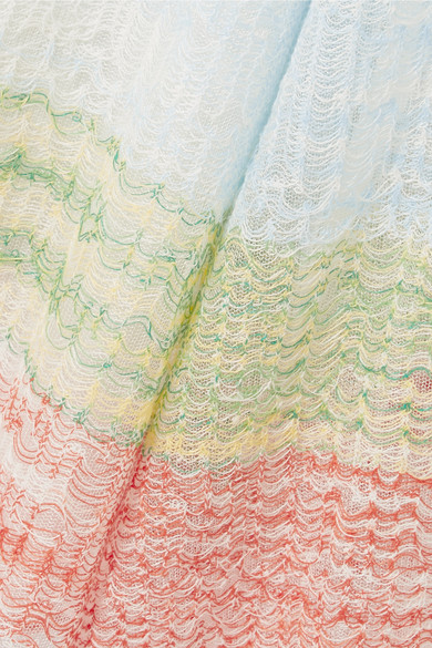 Missoni Dresses Crochet-knit linen-blend maxi dress