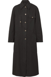 Dries Van Noten Oversized cotton-blend coat