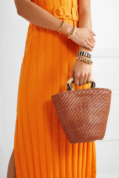 Loeffler Randall Totes Agnes woven leather tote