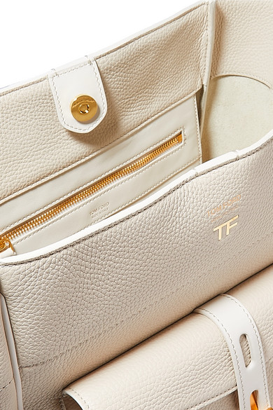 Tom Ford Shoulder Rialto medium textured-leather shoulder bag