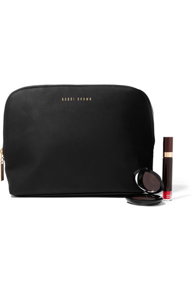 Bobbi Brown Large Faux Textured Leather Cosmetics Case