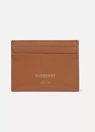 皮革卡夹 by Burberry