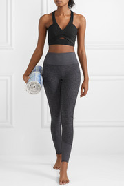 Pirouette cutout stretch sports bra
