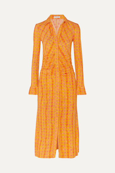 Altuzarra Dresses Claudia checked jersey dress