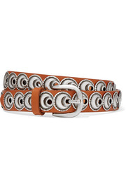 Zappi embellished leather belt