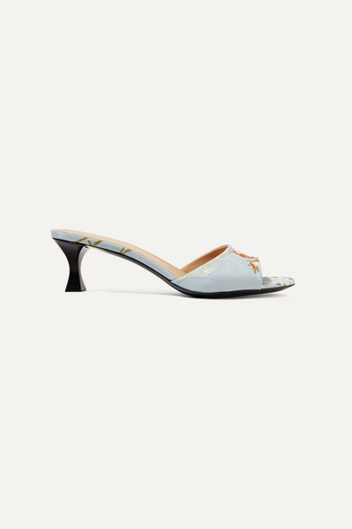 Brock Collection Mules TABITHA SIMMONS JACQUARD MULES