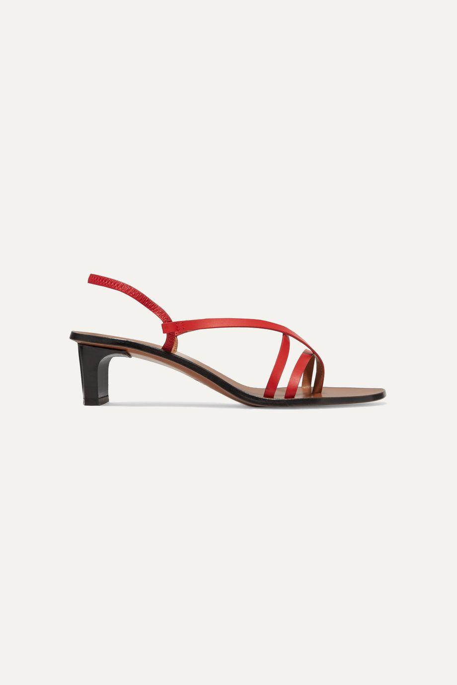 ATP Atelier Nashi leather slingback sandals