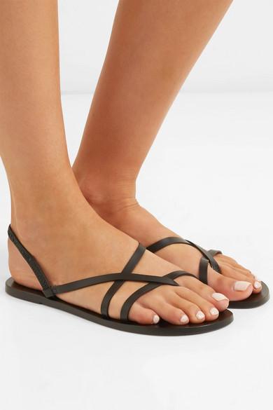 Atp Atelier Sandals Lizza leather slingback sandals