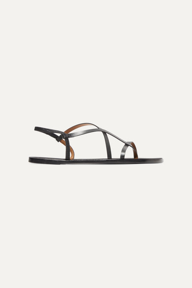 Atp Atelier Leathers Lizza leather slingback sandals