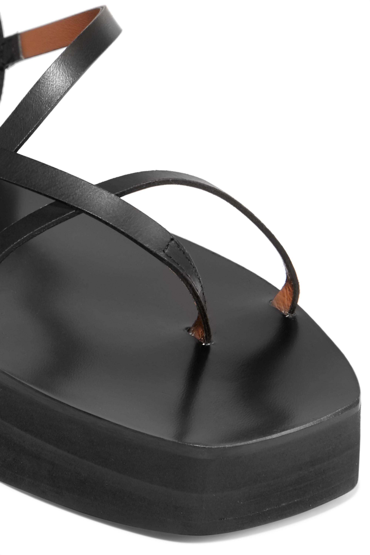 ATP Atelier Maremma leather platform sandals