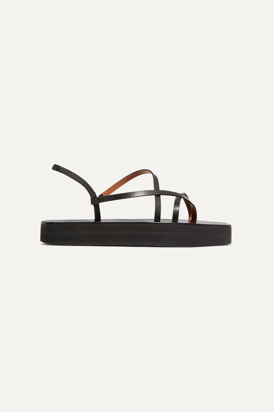 ATP Atelier Maremma leather platform sandals