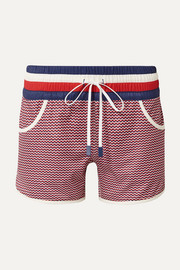 Perfect Moment Bedruckte Shorts aus Stretch-Material