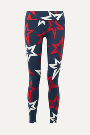Perfect Moment Starlight bedruckte Stretch-Leggings
