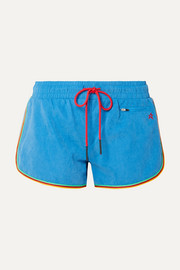 Perfect Moment Rainbow Shorts aus gebürstetem Shell