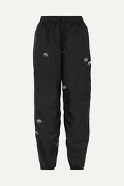 adidas Originals By Alexander Wang Appliquéd shell track pants