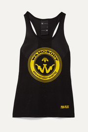 adidas Originals By Alexander Wang Printed mesh tank