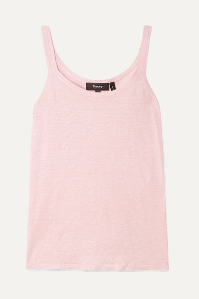 Linen Blend Tank by Theory