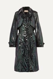 Christopher Kane Lamé trench coat