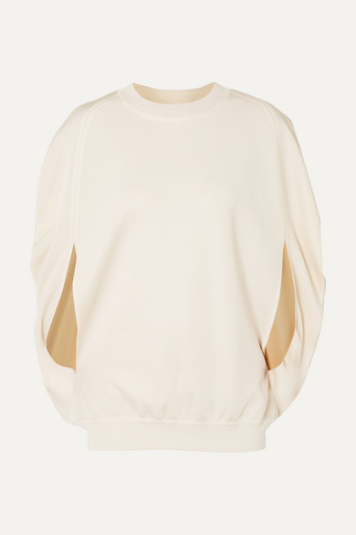 Milano Cape Effect Cupro Sweater by Sonia Rykiel