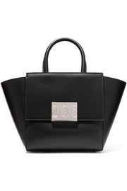 CALVIN KLEIN 205W39NYC Bonnie mini canvas-trimmed leather tote