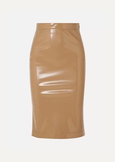ec9b8e355 Burberry | Vinyl midi skirt | NET-A-PORTER.COM
