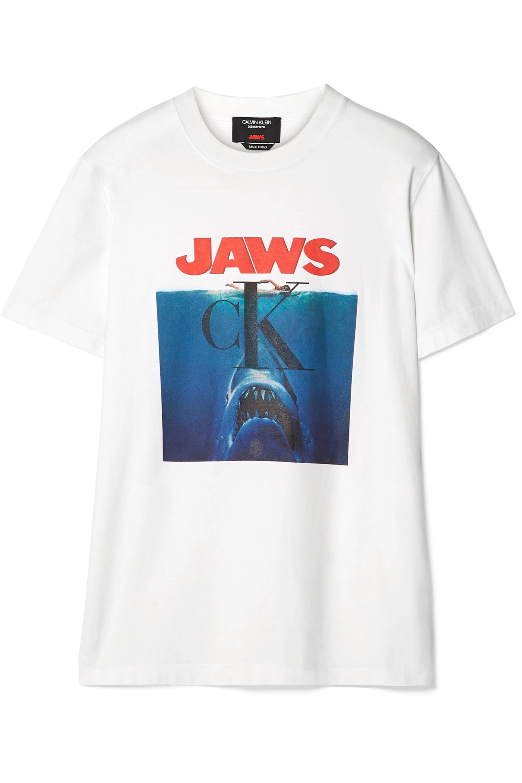 CALVIN KLEIN 205W39NYC Printed Cotton-Jersey T-Shirt