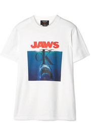 CALVIN KLEIN 205W39NYC Printed Cotton-Jersey T-Shirt