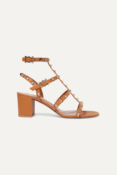 hot-selling fashion special price for release info on Valentino Garavani The Rockstud 60 leather sandals