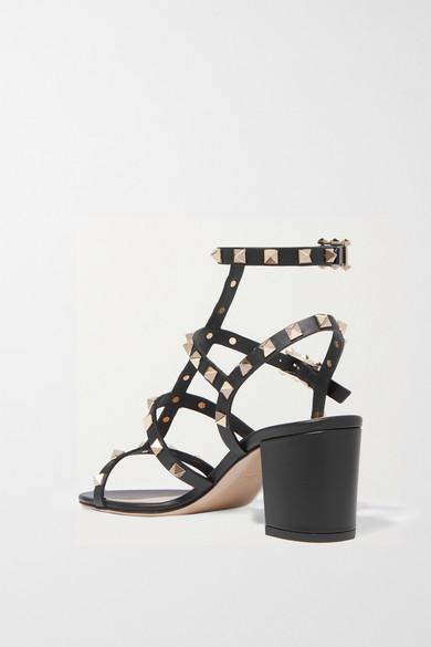 8f4c67cb81b Valentino | Valentino Garavani The Rockstud 60 leather sandals | NET ...