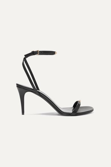 09998082f1b Valentino Garavani The Rockstud Nude 80 leather sandals