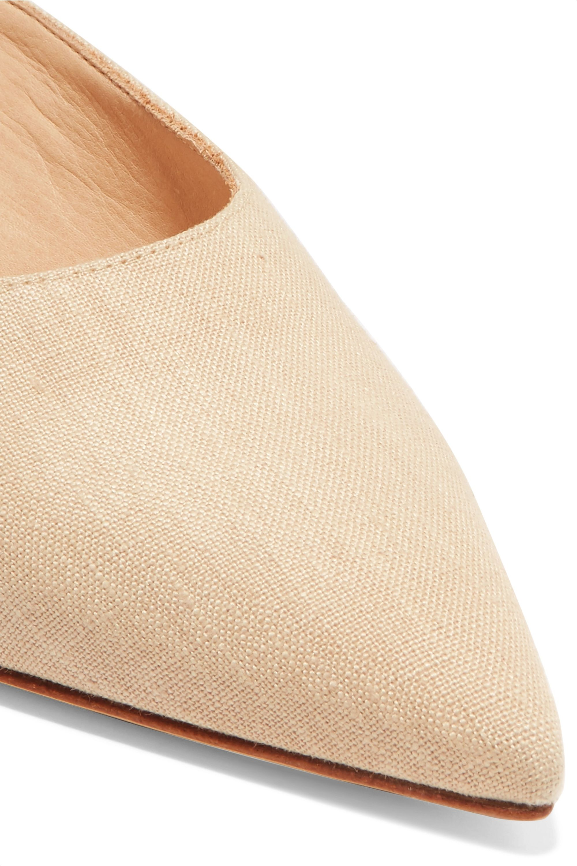 Gabriela Hearst Rosendo 亚麻穆勒鞋