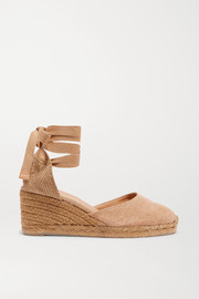 Carina 60 canvas wedge espadrilles