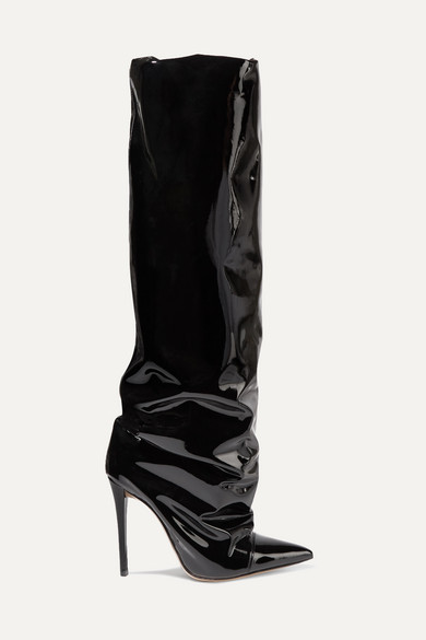 Sasha Pvc Knee Boots by Alexandre Vauthier