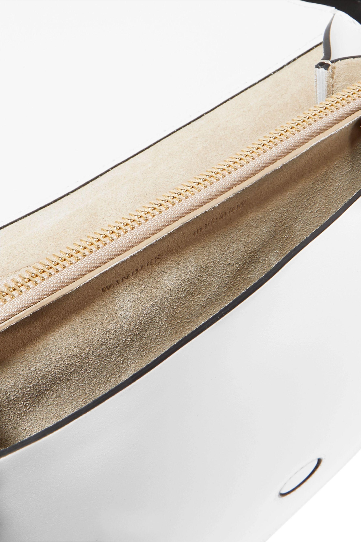 Wandler Al Schultertasche aus Leder mit Schlangeneffekt