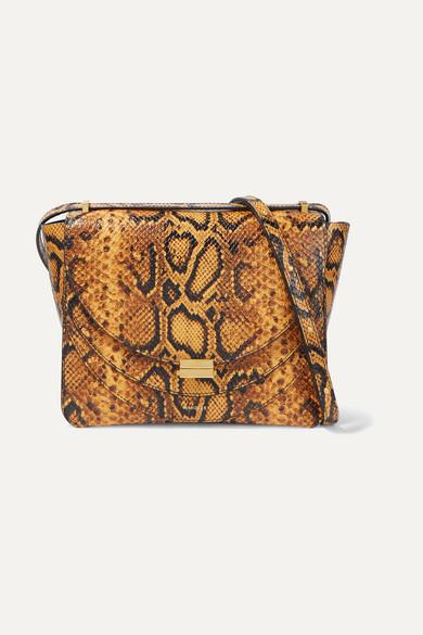 Wandler Shoulder Luna snake-effect leather shoulder bag