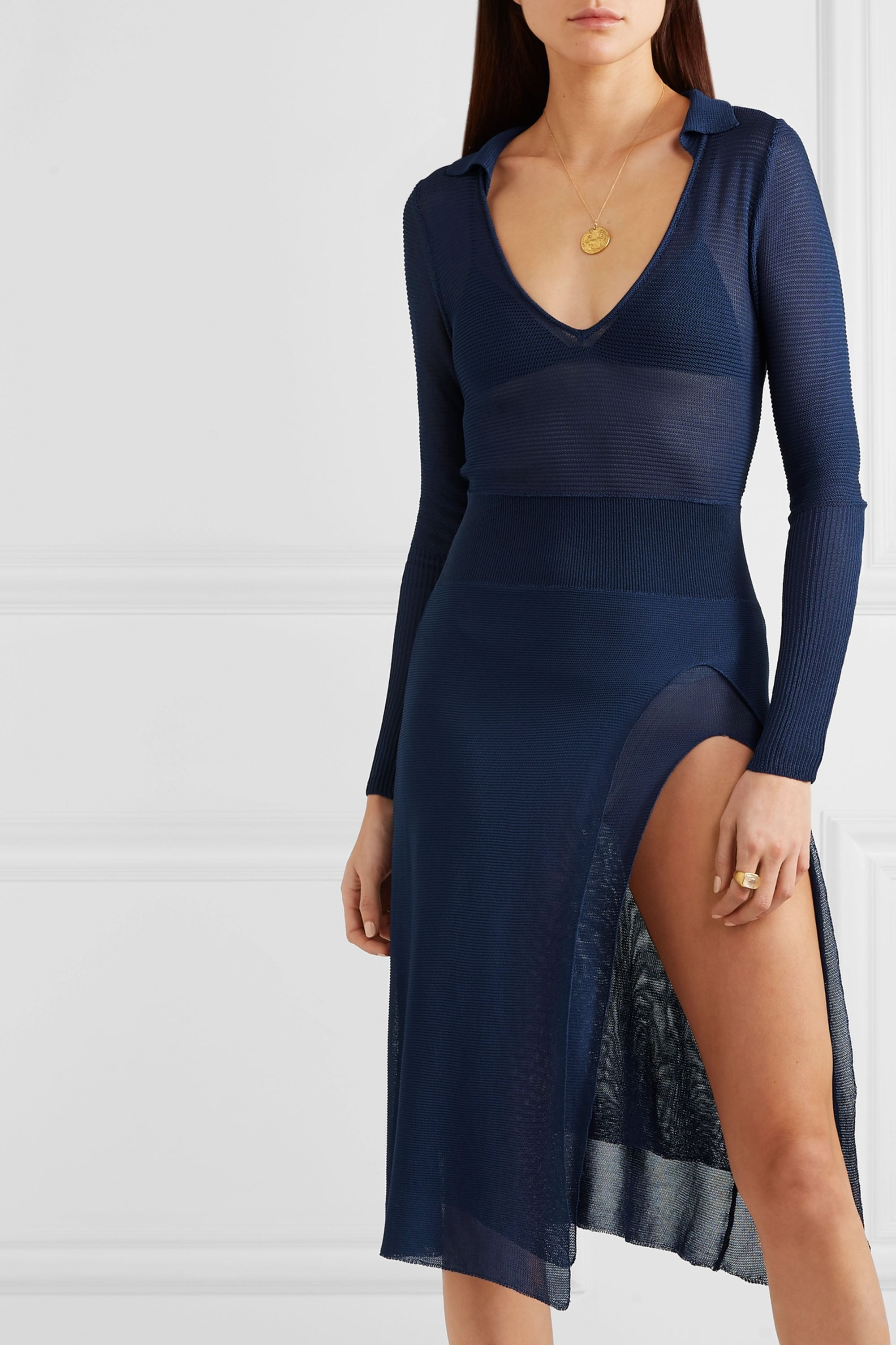 Jacquemus Notte knitted dress
