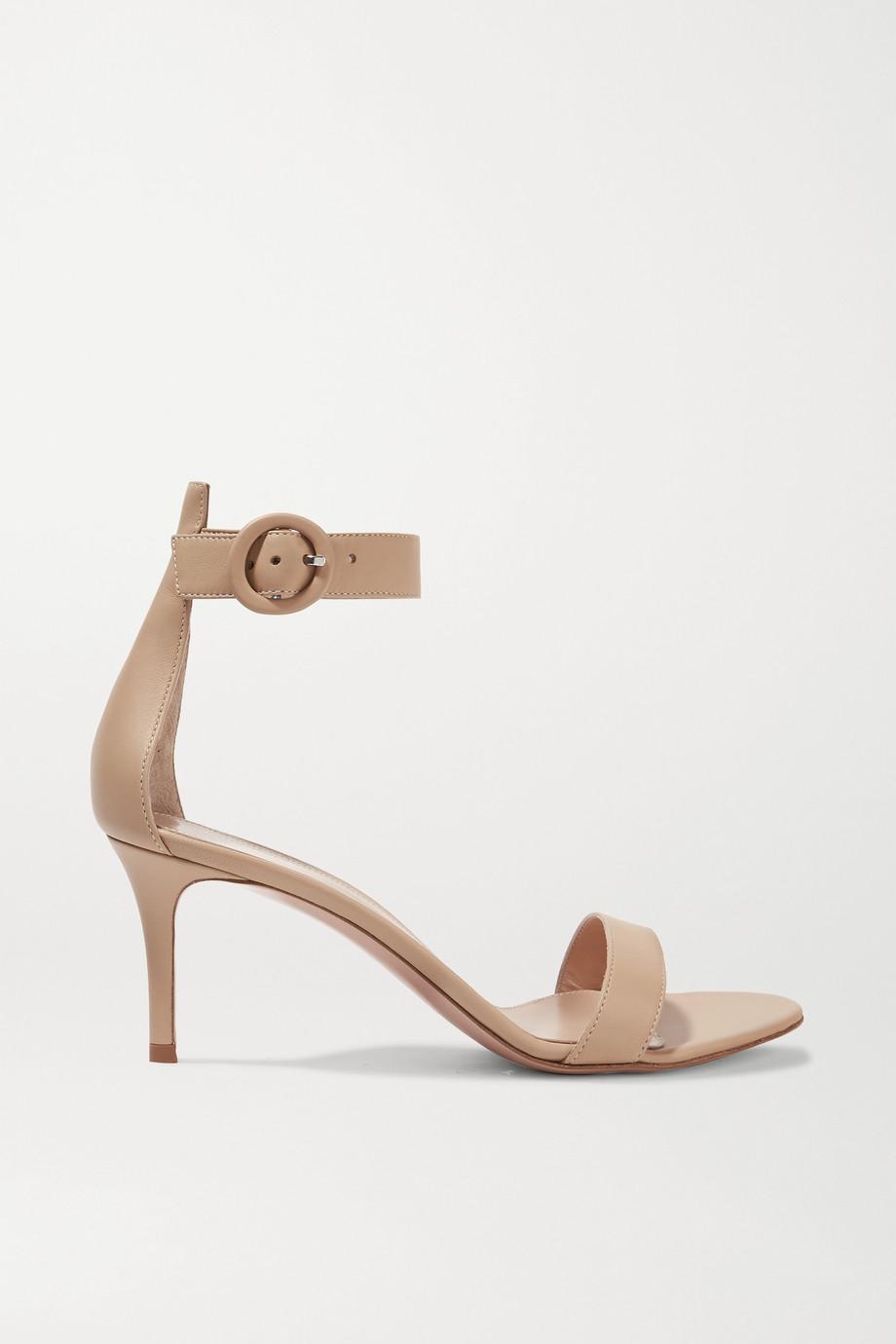 Gianvito Rossi Portofino 70 leather sandals