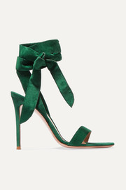 Gianvito Rossi 105 suede sandals