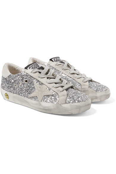Sneakers 28 Distressed Size 35 Leather Glittered Superstar ZOXTuPki