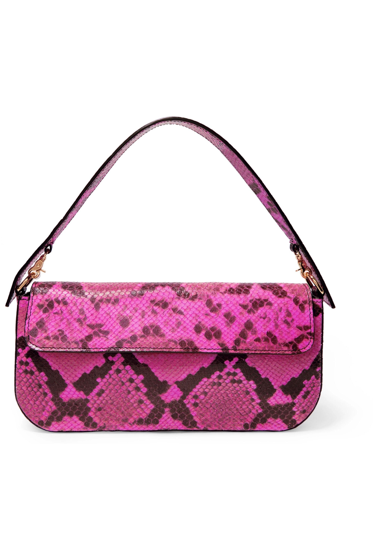Marques' Almeida Snake-effect leather shoulder bag