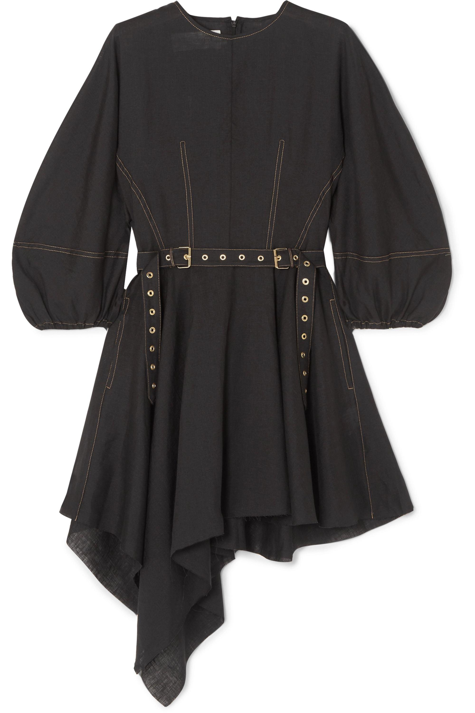 Marques' Almeida Belted linen dress