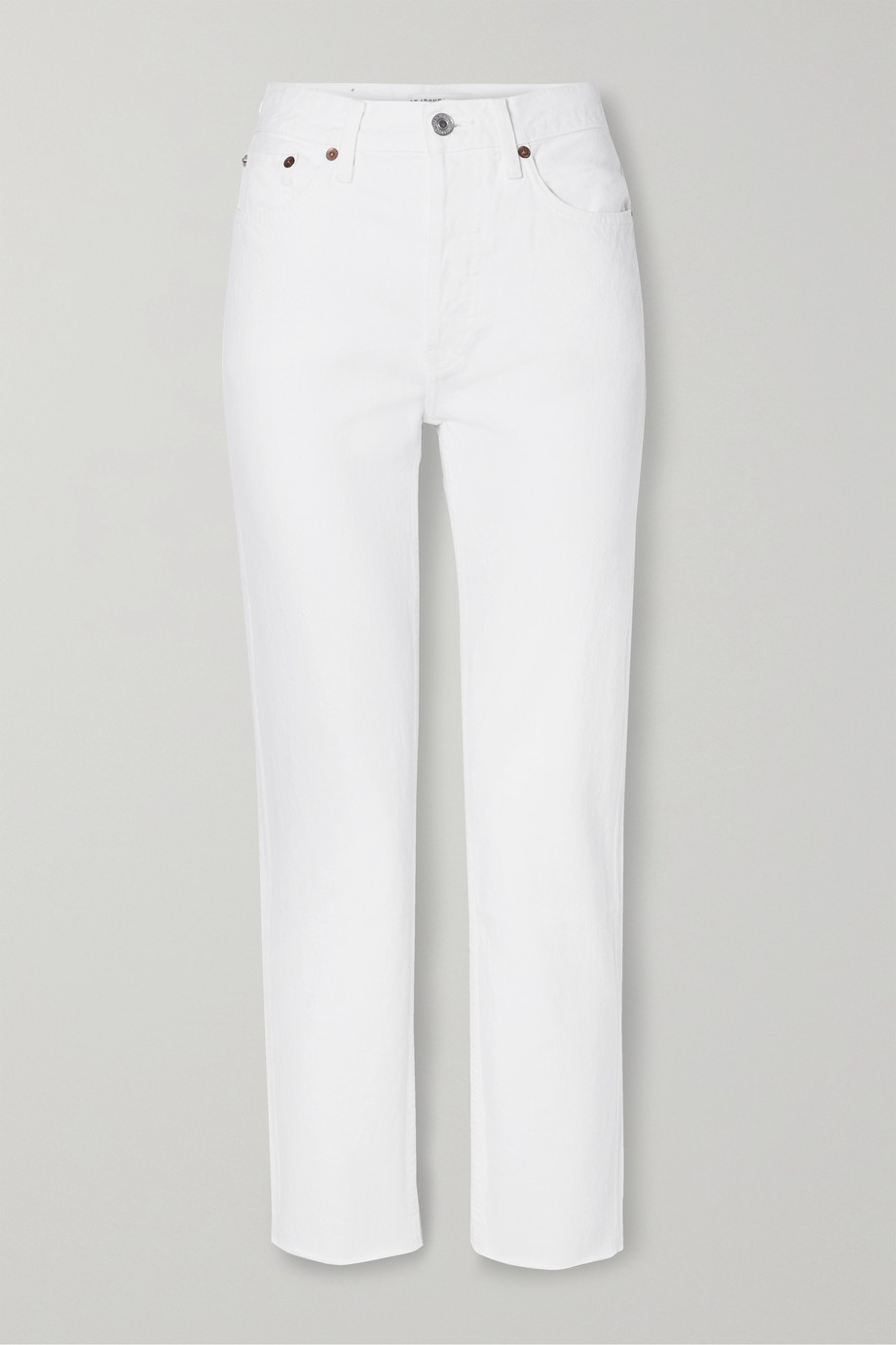 RE/DONE Originals Stove Pipe hoch sitzende Jeans mit geradem Bein