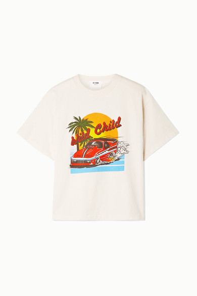 Re/done T-shirts THE EX-BOYFRIEND PRINTED T-SHIRT