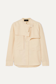 Joseph Tally washed-silk shirt