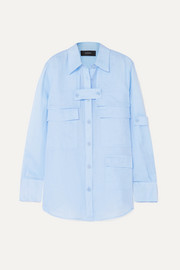 Joseph Wesley layered ramie shirt