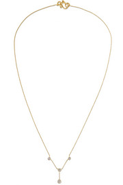 Sophie Bille Brahe Roma Grand 18-karat gold diamond necklace