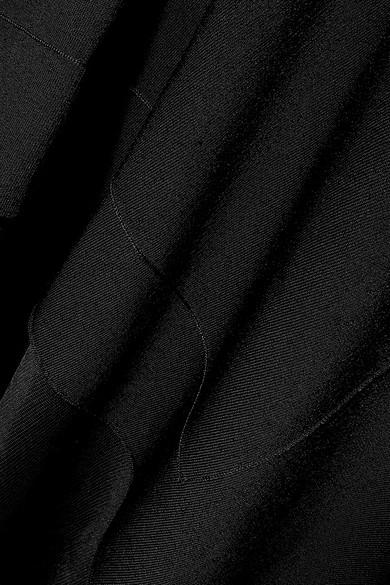 Victoria Beckham Dresses Off-the-shoulder asymmetric stretch-knit midi dress