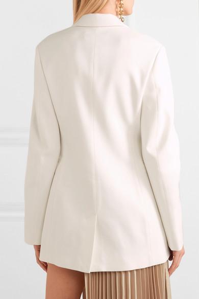 Victoria Beckham Blazers Cotton-blend blazer