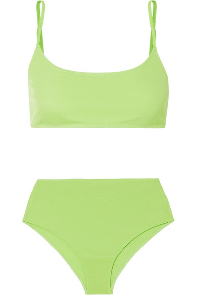 Rejina Pyo Pants IMOGEN NEON JERSEY BRA AND BRIEFS SET